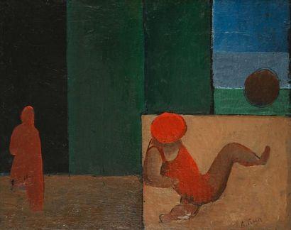 Alfred RETH [franco - hongrois] (1884 - 1966)