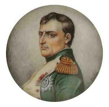 DABOS (XXe siècle) Napoléon en buste en uniforme de colonel des grenadiers de la...