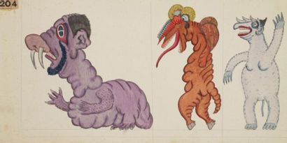 JOSEP BAQUÉ (1895-1967) 1 500 Animaux, phénomènes rares, bêtes jamais vues, monstres...