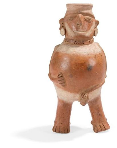 Vase anthropomorphe représentant un personnage...