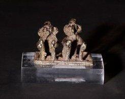 Couple de dévots. Inde - Maharashtra - Art...
