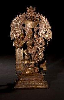Durga Mahishasuramardini. Inde - Maharashtra....