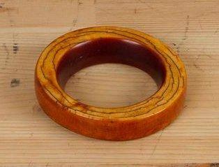 IGBO (Nigéria) Bracelet en ivoire. Beau bracelet...