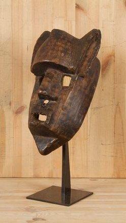 """BAMANA (Mali) Masque. Superbe masque lion de grande ancienneté, """"Jaraw"""" de la société..."""