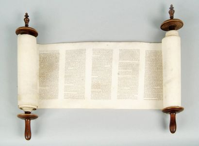 [BIBLE HÉBRAÏQUE - SÉFER THORA MINIATURE]....