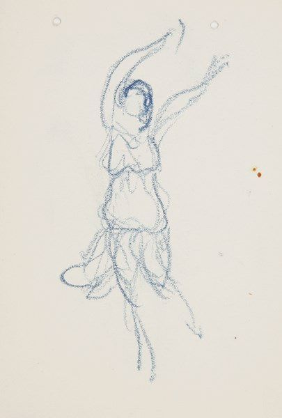 DANSE. Valentine HUGO (1890-1968) peintre....