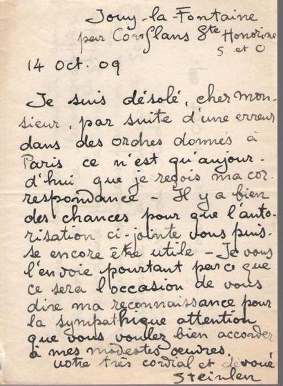Théophile Alexandre STEINLEN (1859-1923)....
