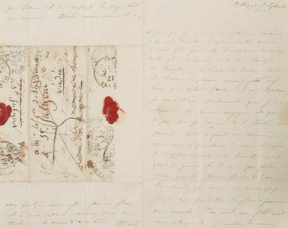 Marie d'AGOULT (1805-1876) femme de lettres,...