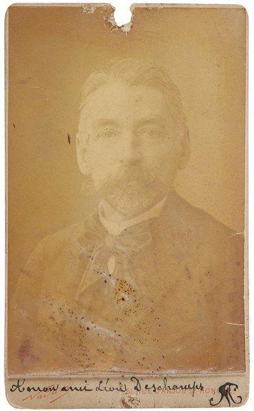 Stéphane MALLARMÉ (1842-1898). Photographie...