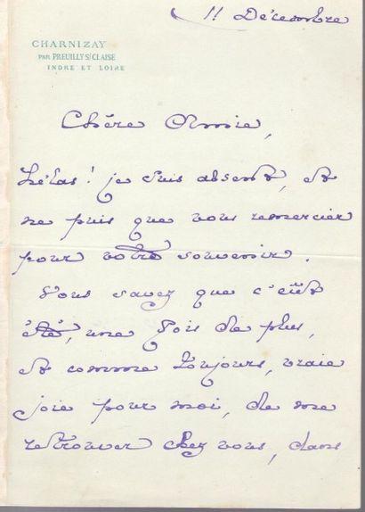 Robert de montesquiou (1855-1921). L.A.S....