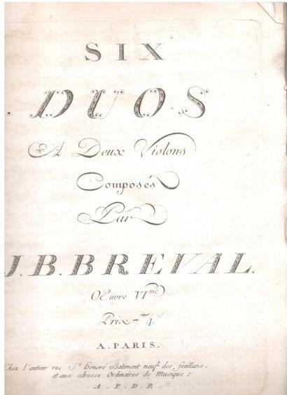musique. Recueil de manuscrits musicaux de...