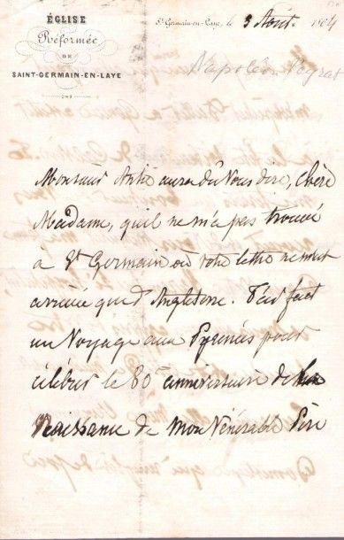 Napoléon Peyrat (1809-1881) poète, historien,...