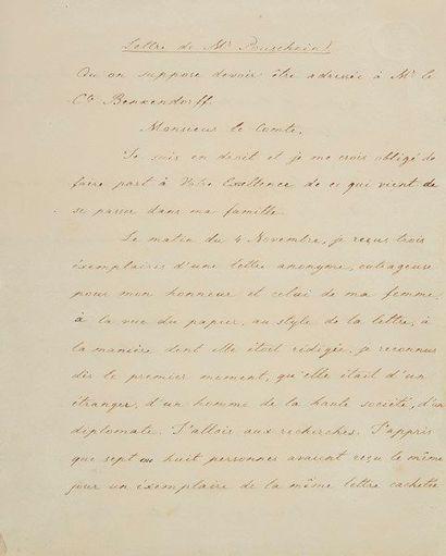 [Alexandre POUCHKINE (1799-1837) poète russe]....