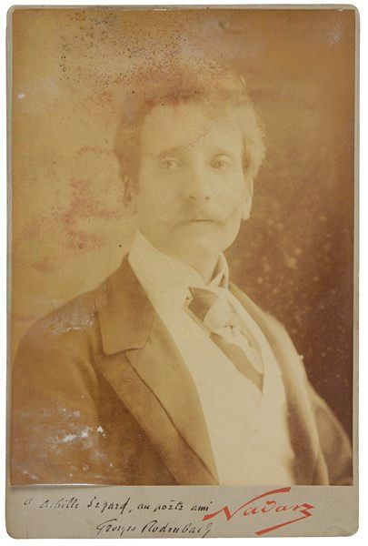Georges RODENBACH (1855-1898). Photographie...