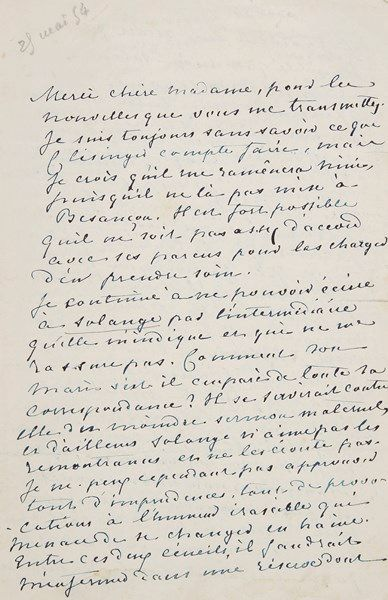 George SAND. L.A.S. «George Sand», [Nohant]...