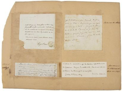 Germaine Necker, baronne de STAëL (1766-1817). L.A., à Jean-Charles-Léonard Simonde...