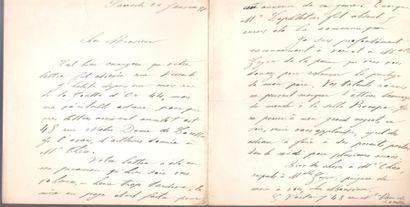 Georges VERLAINE (1871-1926) fils du poète....