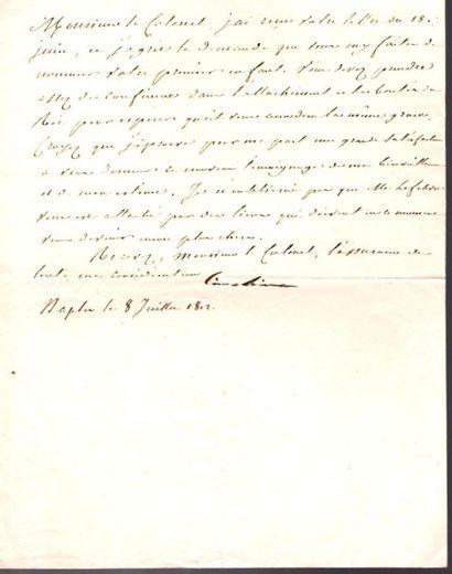 Caroline BONAPARTE (1782-1839) sœur de Napoléon,...
