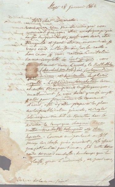 Jean-Baptiste BORY DE SAINT-VINCENT (1780-1846)...