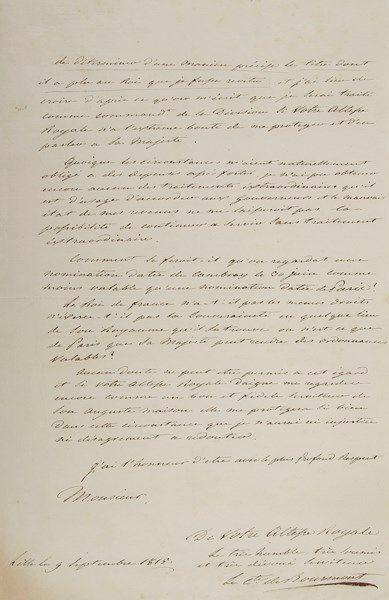 Louis Auguste Victor de Ghaisne, comte de...