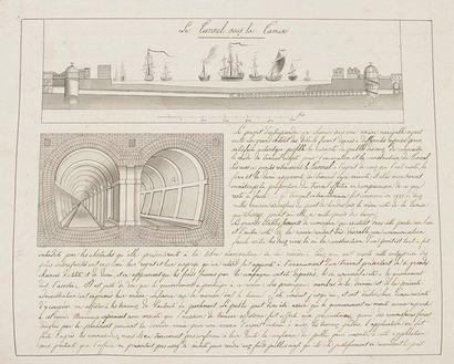 Marc Isambart BRUNEL (1769-1849) ingénieur....