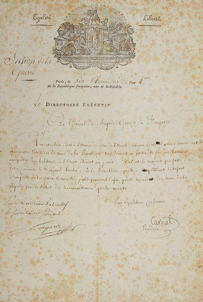 Lazare CARNOT (1753-1823) mathématicien et...