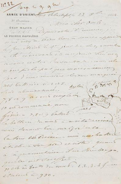 Guerre de CRIMÉE. Pierre-Marc BESSON (1815-1871)...
