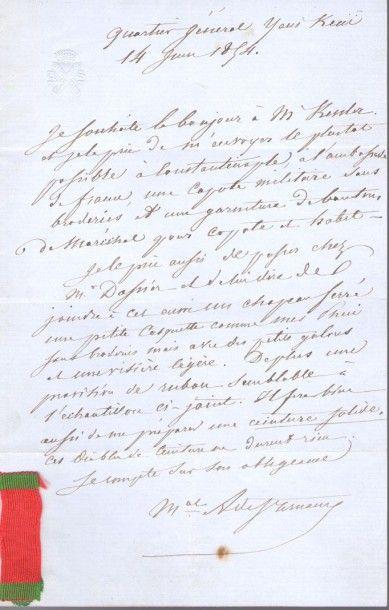 divers. Environ 120 lettres ou pièces, XVIIIe-XXe...