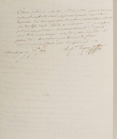 EUGÈNE DE BEAUHARNAIS (1781-1824) fils de...