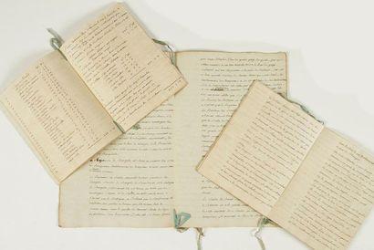 inde. 3 manuscrits, fin XVIIIe siècle; 2...