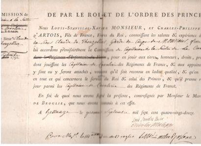 LOUIS XVIII (1755-1824) Roi de France. 2...
