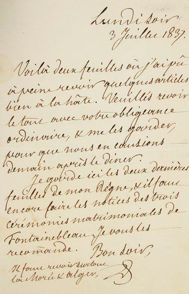 louis-philippe (1773-1850) Roi des Français....