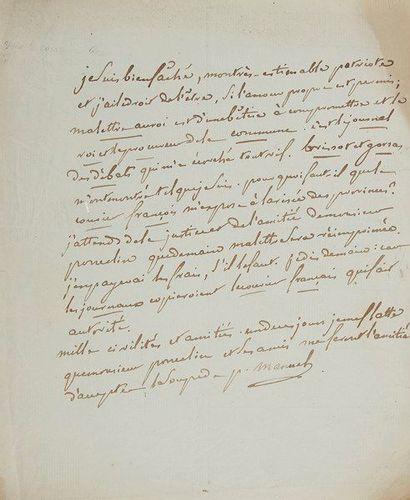 Pierre-Louis MANUEL (1751-1793) publiciste,...