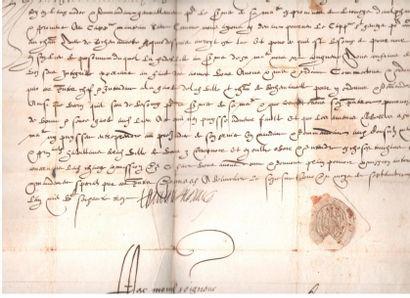 Henri Ier, duc de MONTMORENCY (1534-1614)...