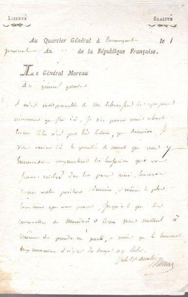 Jean-Victor MOREAU (1763-1813) général de...