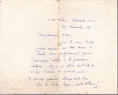 Charles TOURNEMIRE (1870-1939) organiste...