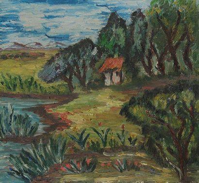 Charles TRENET. 3 peintures originales, dont...