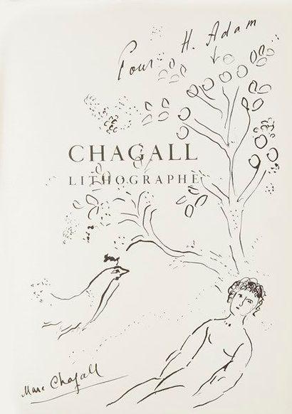 Marc CHAGALL. Julien CAIN. Chagall lithographe....
