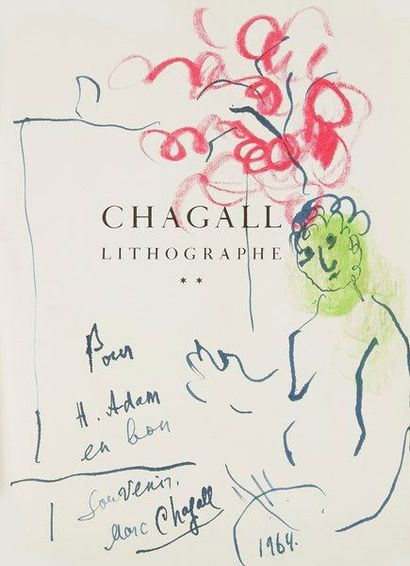 Marc CHAGALL. Fernand MOURLOT. Chagall lithographe, Tome II, 1959-1962 (André Sauret,...