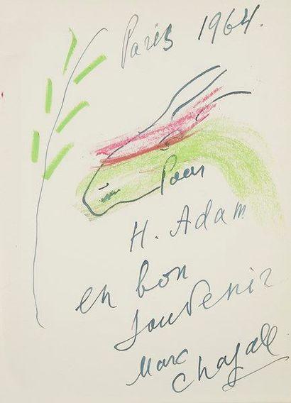 Marc CHAGALL. Vitraux pour Jérusalem (Paris,...