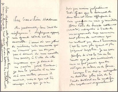 Lucie COUSTURIER (1876-1925) peintre et écrivain....