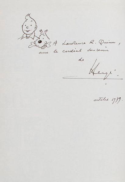 Georges Rémi dit HERGÉ (1907-1983). Les Aventures...