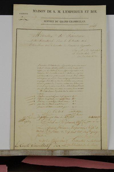 Jean-Baptiste ISABEY (1767-1855). P.S. comme...
