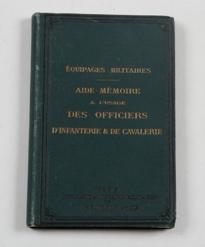 «Équipages militaires. Aide-mémoire à l'usage...