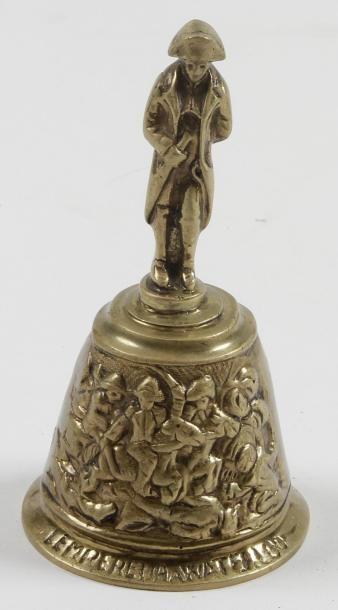 «L'Empereur Napoléon Ier» Clochette de bureau...