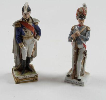«Grenadier de la Garde» «Le maréchal Lannes»...