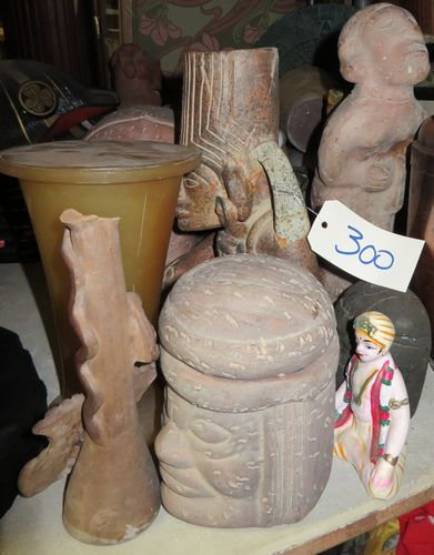 Lot de sculptures d'après l'antique (Grèce,...