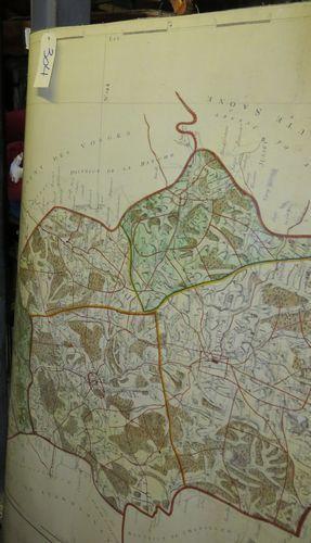 Lot de cartes géographiques.
