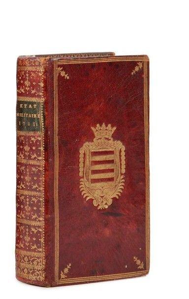 [RELIURE] ROUSSEL (René Louis de). État militaire...