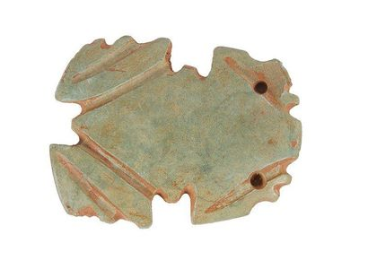 Pendentif représentant une grenouille stylisée....